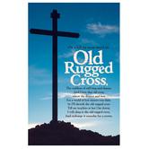 Salt & Light, Old Rugged Cross Church Bulletins, 8 1/2 x 11 inches Flat, 100 Count