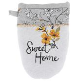 Kay Dee Designs, Sweet Home Grabber Mitt, Cotton, Gray, 5 1/2 x 7 1/2 inches