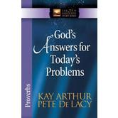 New Inductive Study Series: God's Answers for Today's Problems: Proverbs