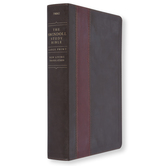 NLT Swindoll Study Bible, Large Print, Imitaton Leather, Multiple Colors Available