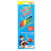 Wikki Stix, Rainbow Colors Pack, 8 inches, Set of 24