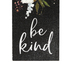 P. Graham Dunn, Be Kind Floral Word Block, Pine Wood, 3 1/2 x 1 5/8 inches