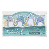 Streamline Importing Inc, Narwhal Sticky Memo Tabs, Paper, Blue