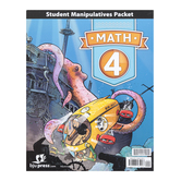BJU Press, Math 4 Student Manipulative Packet, 4th Edition, Paperback, Grade 4