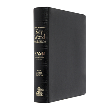 NASB Hebrew-Greek Key Word Study Bible, Bonded Leather, Multiple Colors Available