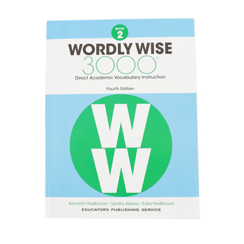 Wordly Wise 3000 4th Edition Student Book 2, Paperback, Grade 2