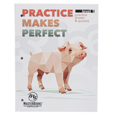 Master Books, Practice Makes Perfect Level 1 Math Lessons for a Living Education, Paperback, Grade 1