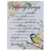Dexsa, Woodland Grace, Marriage Prayer Magnet, 3 x 4 inches