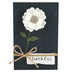 Young's, Inc., Felt Flower on Board Plaque, Wood, Assortment, 4 x 6 inches