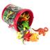 Wild Republic, Dinosaur Mini Bucket Set, 18 Pieces
