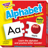 Alphabet Fun-to-Know Puzzles