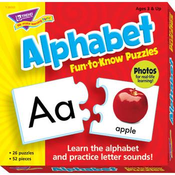 Alphabet Fun-to-Know Puzzles