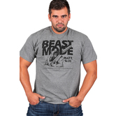 Gardenfire, Matthew 16:24, Beast Mode, Men's Short Sleeve T-Shirt, Charcoal, S--3XL