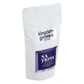 Kingdom Growers Coffee, Nations Blend Coffee Grounds, 12 ounces
