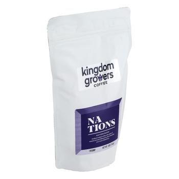 Kingdom Growers Coffee, Nations Blend Coffee Grounds, 12 ounces