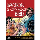 The Action Storybook Bible, by Catherine DeVries and Sergio Cariello, Hardcover