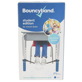 Bouncyband, Original Bouncy Band Student Edition for School Desks, Blue, Fits 20-28 Inches Wide
