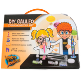 Heebie Jeebies, DIY Galileo Thermometer Kit, 12 Pieces, Ages 6 and up