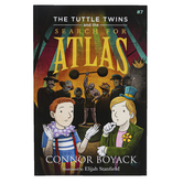 The Tuttle Twins and the Search for Atlas, Book 7, Paperback, 55 Pages, Grades K-6