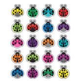 Teacher Created Resources, Colorful Ladybugs Stickers, 1 x 1 Inch, Multi-Colored, Pack of 120