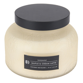 Darsee & Davids, Maple & Cream Latte Jar Candle, Cream, 18 ounces