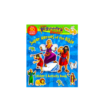 Zondervan, Beginners Bible Super Heroes of the Bible Sticker & Activity Book, Kelly Pulley, Paperback
