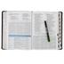 NASB MacArthur Study Bible, Imitation Leather, Raven, Thumb Indexed