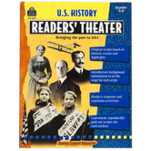Teacher Created Resources, U.S. History Readers' Theater Resource, Reproducible, 112 Pages, Grades 5-8