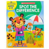 Scholastic, Little Skill Seekers: Spot the Difference Activity Book, 48 Pages, Grades PreK-1