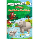 God Makes The World, The Beginner's Bible, My First I Can Read!, by Zonderkidz, Paperback