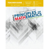 Master Books, Principles of Mathematics Book 2, Teacher Guide, Paperback, 410 Pages, Grade 8