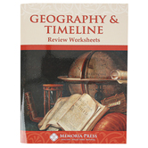 Memoria Press, Geography and Timeline Review Worksheets, Grades 4-6