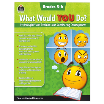 Teacher Created Resources, What Would You Do Workbook, Paperback, 80 Pages, Grades 5-6