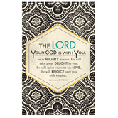 Salt & Light, God Is With You Church Bulletins, 8 1/2 x 11 inches Flat, 100 Count