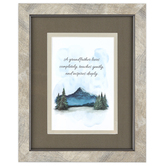 Carson Home Accents, A Grandfather Loves Completely Framed Artwork, PVC, 8 x 10 inches