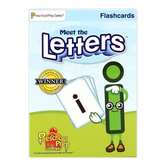 Preschool Prep Company, Meet the Letters Flashcards, Multi-Colored, Grades PreK-1
