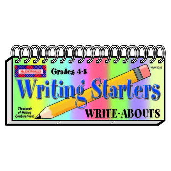 Writing Starters Write-Abouts