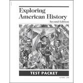 Christian Liberty Press, Exploring American History Test Packet, 2nd Ed, Paper, 33 Pages, Grade 4