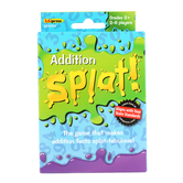 Edupress, Addition Splat! Card Game, Grades 2 and Up, 2 to 6 Players, 225 Pieces,