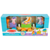 Melissa & Doug, First Play, Rocking Farm Animals Pull Train, Ages 18 Months and Older, 6 Pieces