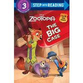 The Big Case, Disney's Zootopia, Level 3 Reader, by Bill Scollon, Paperback