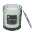 Darsee & David's, Water Blossom Diamond Patterned Jar Candle, Green, 10 Ounces