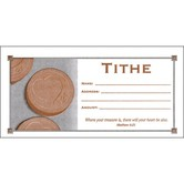 Warner Press, Tithe Envelopes, 6 1/4 x 3 1/8 inches, Set of 100