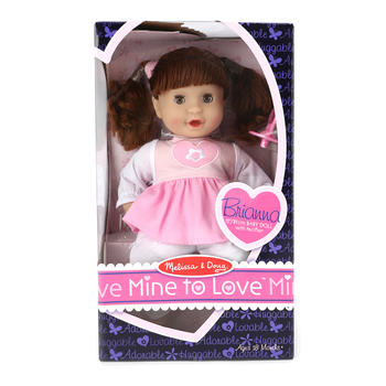 Melissa & Doug, Mine To Love Brianna, Ages 18 Months and Older,  12 Inches, 1 Piece