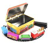 Train Set In A Box Toy Set, 17 Pieces