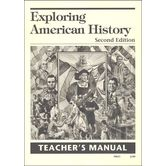 Christian Liberty Press, Exploring American History Teacher Guide, 2nd Ed, Paper, 21 Pages, Grade 4