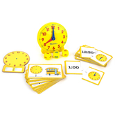 Learning Resources, Time Activity Set, Grades PreK and up, 41 Pieces