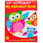 TREND, My Alphabet Book Wipe-Off Book, 27 Pages, Grades PreK-K