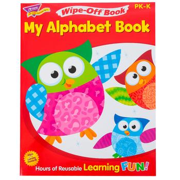 TREND, My Alphabet Book Wipe-Off Book, 27 Pages, Grades PreK-K