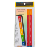 Salt & Light, Color-Coded Bible Tabs, Multi-Color, 72 Tabs